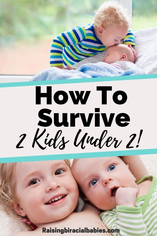 If you have two kids under two, chances are, you know how overwhelming and stressful life can be!! But these tips can help you figure out how to manage life with two under two!