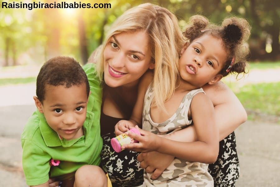 How to Support Mixed Race Identity as a Single Parent