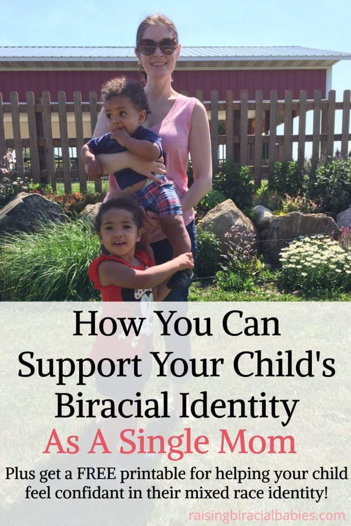 support mixed race identity | how to support biracial children | biracial kids | biracial | single mom