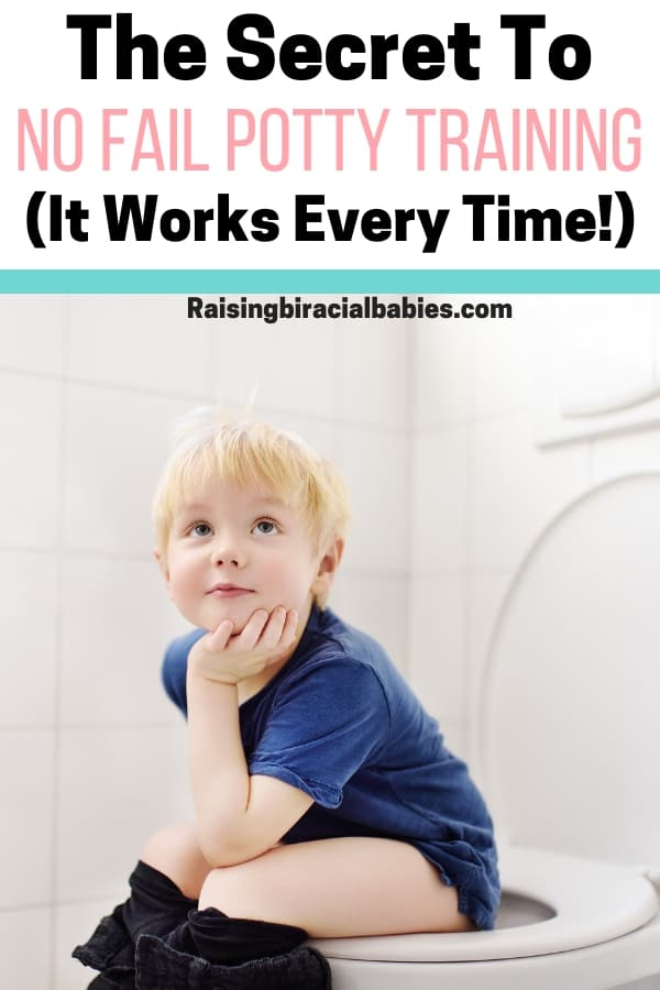 Are you nervous about potty training? Are you struggling with getting your child to use the toilet? You need to read this one potty training tip that works every time!