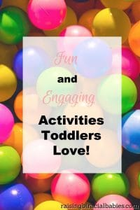 Activities Toddlers Love