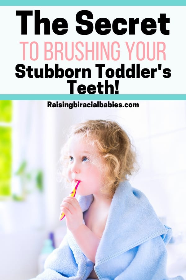 Is it a struggle to brush your child's teeth everyday? You need to try this method! You'll learn how to brush your toddler's teeth, even if they hate brushing!