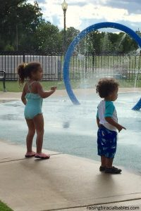 sunscreen is important to use on your biracial children