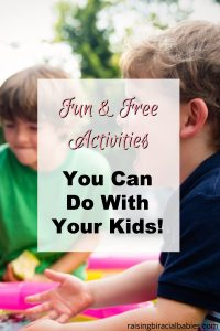 fun and free activities