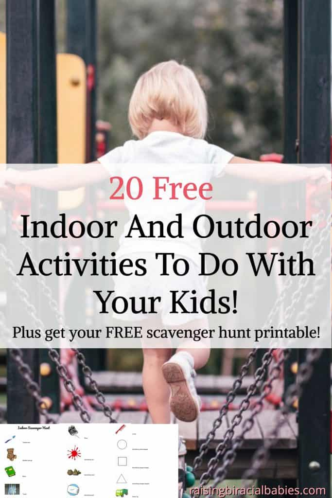 fun and free activities | activities to do with kids | fun things to do with your kids | indoor and outdoor activities for kids | free activities to do with kids |