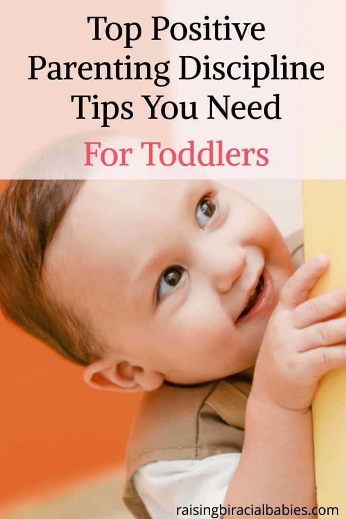 positive discipline techniques for toddlers
