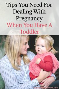 Cope with pregnancy symptoms when you have a toddler