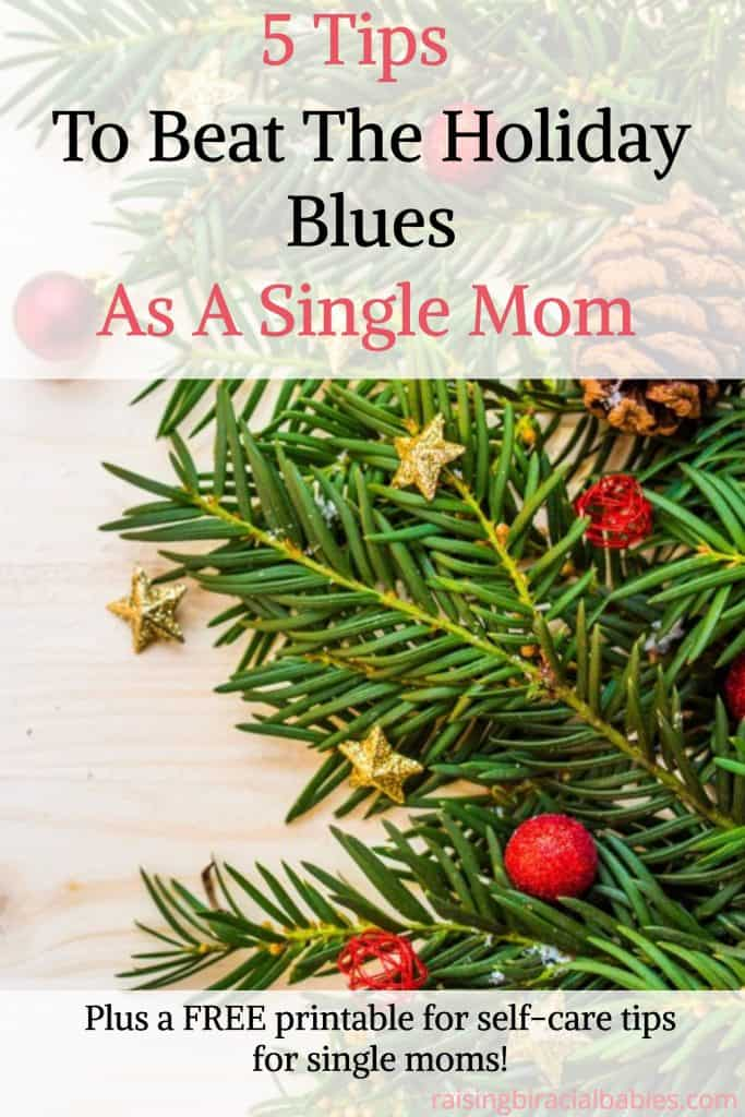 holiday blues as a single mom