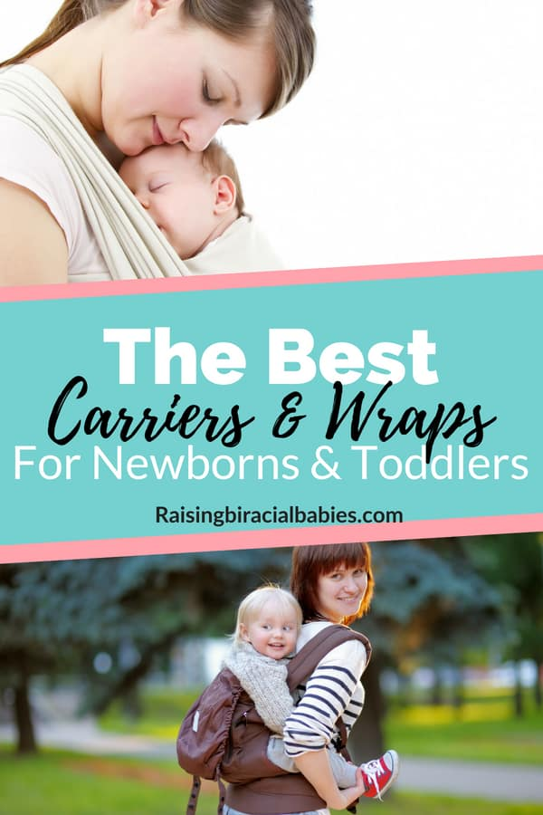 Are you interested in babywearing but you don't know where to start? There are a ton of different carriers and wraps. This list has the best baby carriers for babies and toddlers! | baby carriers | babywearing | baby | newborn | toddler | motherhood | parenting |