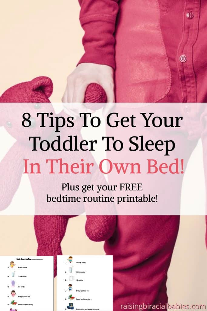 Transition A Toddler Into Their Own Bed | toddler sleep | toddler behavior | how to get a toddler to sleep in their bed