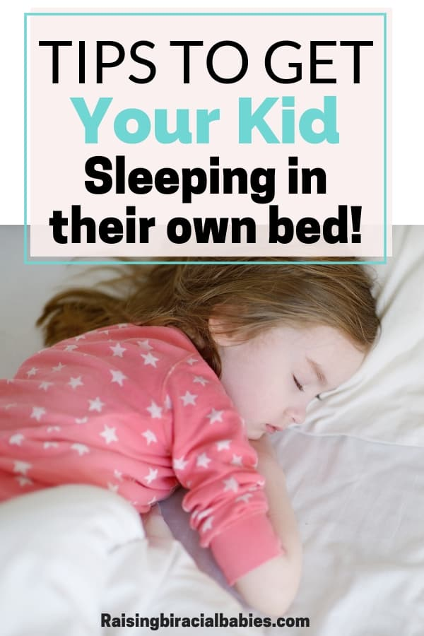 If your toddler is still sleeping in a crib or in your bed and you're ready for a change, read these helpful tips to transition your toddler into their own bed! | parenting tips | toddler sleep tips | help toddler sleep in their own bed |
