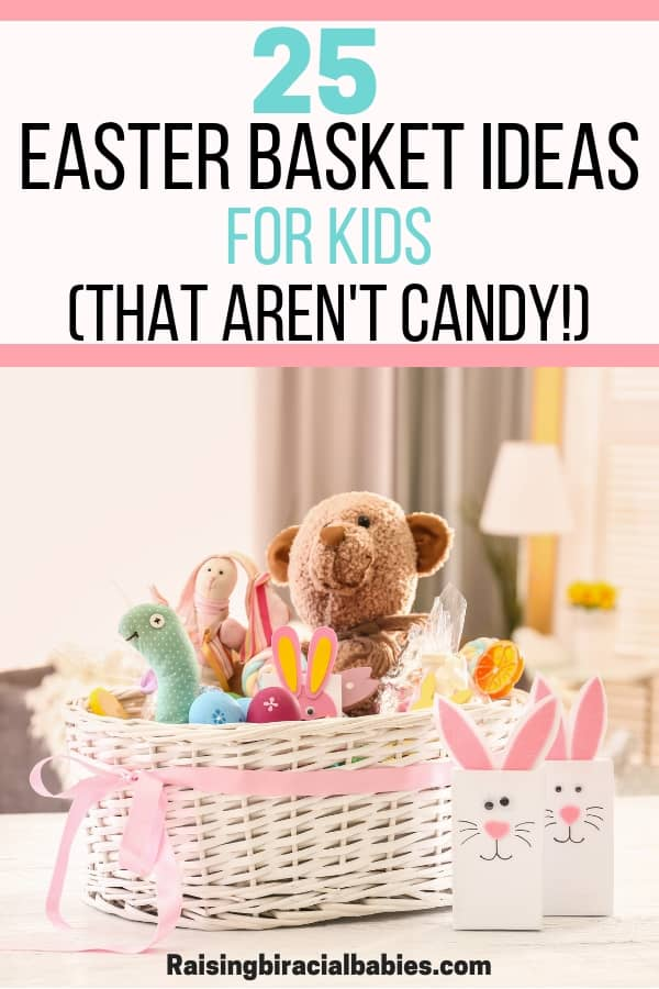Looking for easter basket ideas for kids that aren't candy? You'll love these cute gift ideas your kids will love!