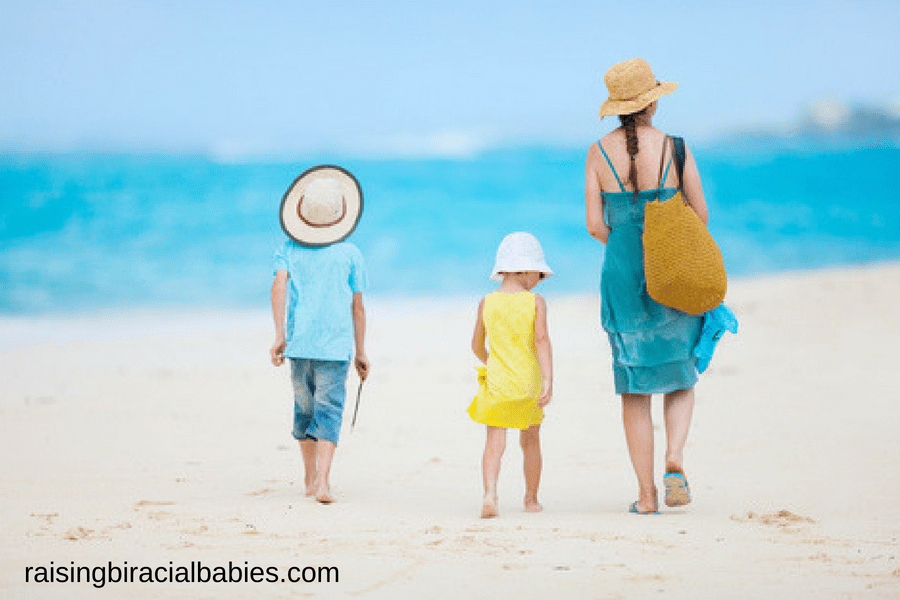 Beach Hacks For Single Moms With Young Kids