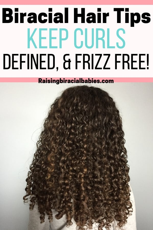 These biracial hair care tips will keep your kids curls defined, frizz free and healthy!