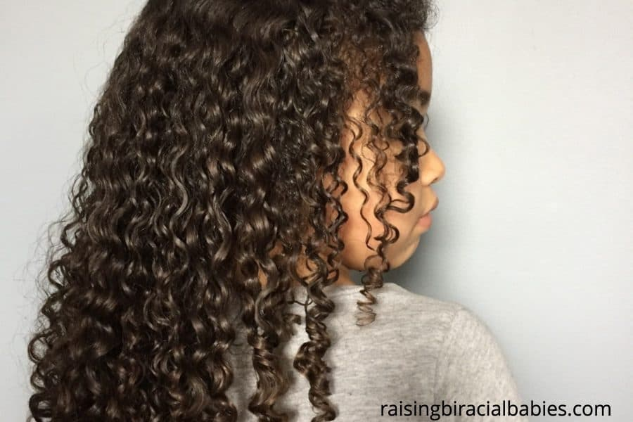 mixed hair | care for mixed hair | how to care for biracial hair | biracial curly hair care | biracial hair | mixed hair care tips |
