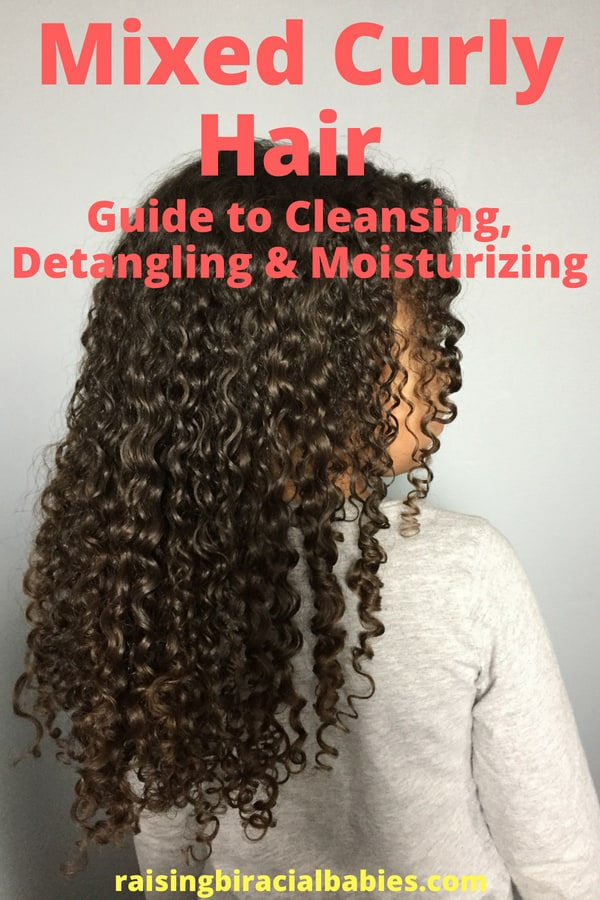 How To Care For Mixed Hair Step By Step Instructions