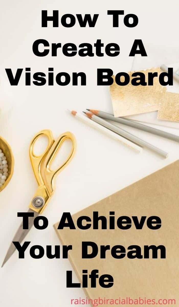create a vision board | vision board | supplies for vision board | inspiration