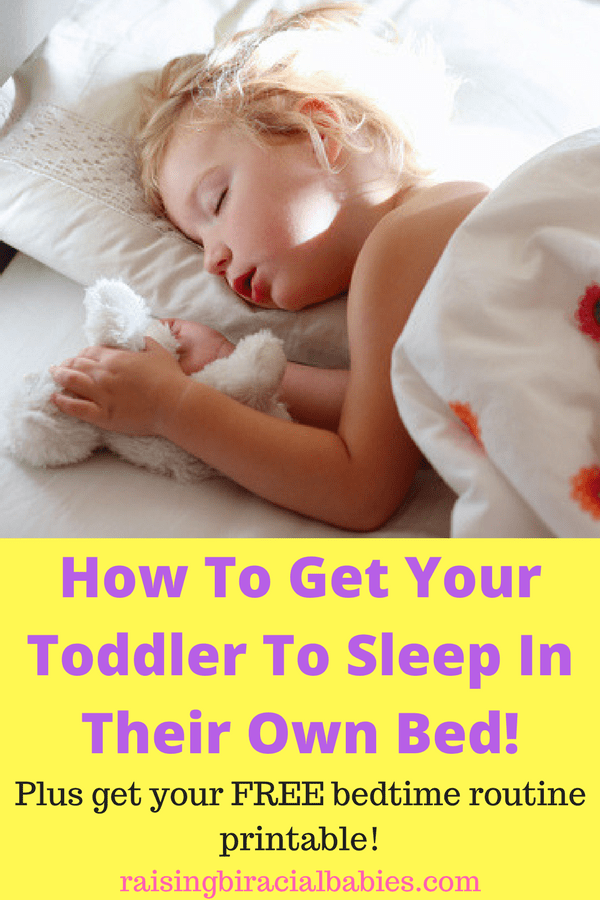 Transition a toddler into their own bed | parenting | helping your toddler sleep | transitioning toddler from co-sleeping to their bed | sleep tips for toddlers