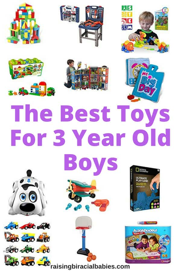 Looking for awesome toys for 3 year old boys? This list has toys for toddler boys that they'll love for a long time and will grow with them!