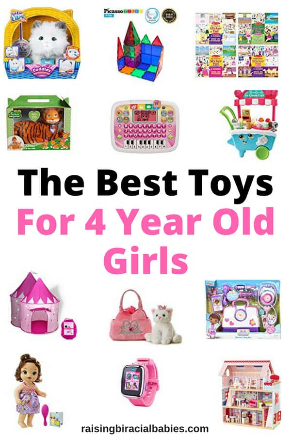 Looking for toys for 4 year old girls that they'll go crazy for? This list has toys little girls will love for a long time!