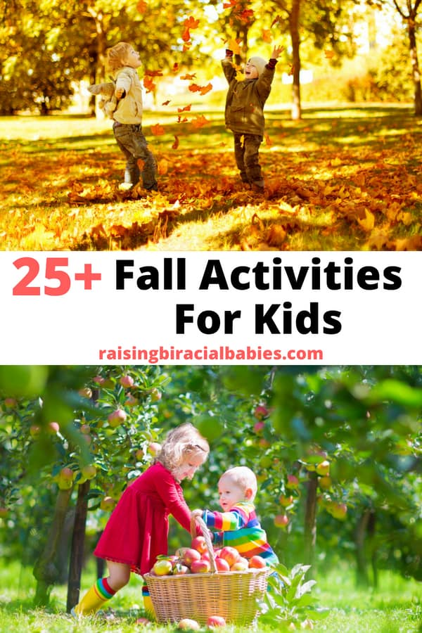 Looking for fun fall activities for kids? This list has over 25 fun ideas the whole family will love! | autumn activities | fall activities | activities for kids | parenting | raising kids |