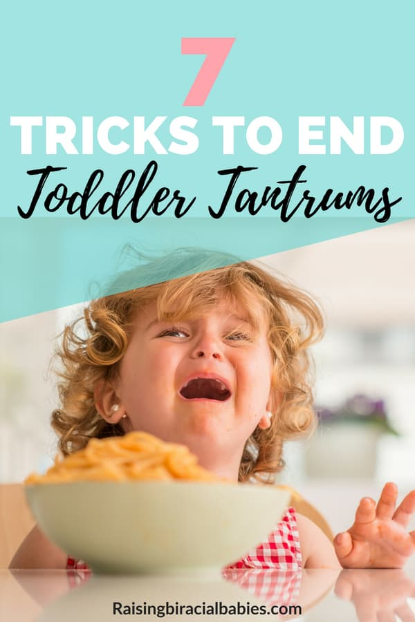 Are you frustrated with your toddler's tantrums? Do you wonder how you can stop them? This article gives you amazing tips and tricks to end your toddler's tantrums! | how to handle tantrums | toddler tantrums | motherhood | parenting | positive parenting |