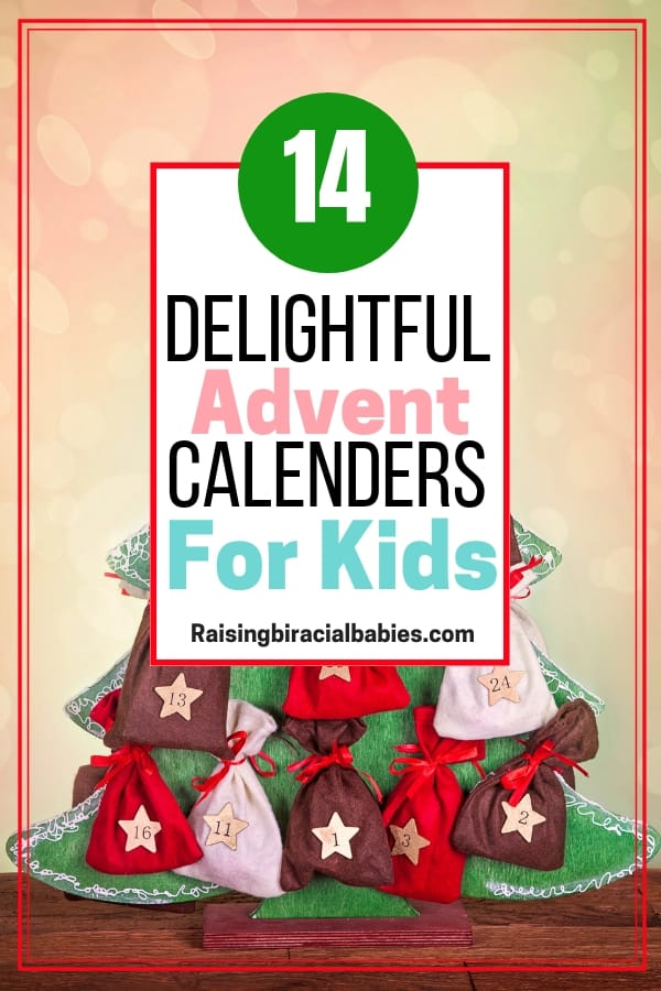 If you're looking for non-traditional advent calendars for kids, these are super cute options your kids are sure to love!