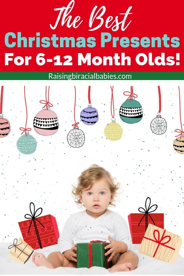 Looking for a gift that a 6-12 month old will love? This list has the best baby toys for ages 6-12 months! These baby toys make awesome Christmas presents and holiday gifts too!