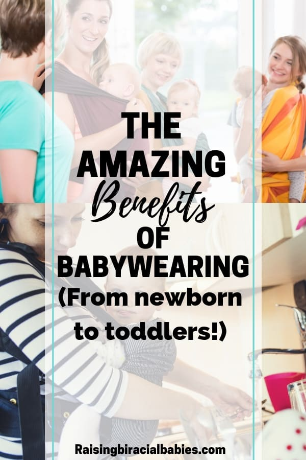 Wondering if babywearing is right for you? Read all about these amazing benefits of babywearing from newborn to toddlers! | parenting tips | babywearing | baby carriers | newborn | toddler | motherhood |