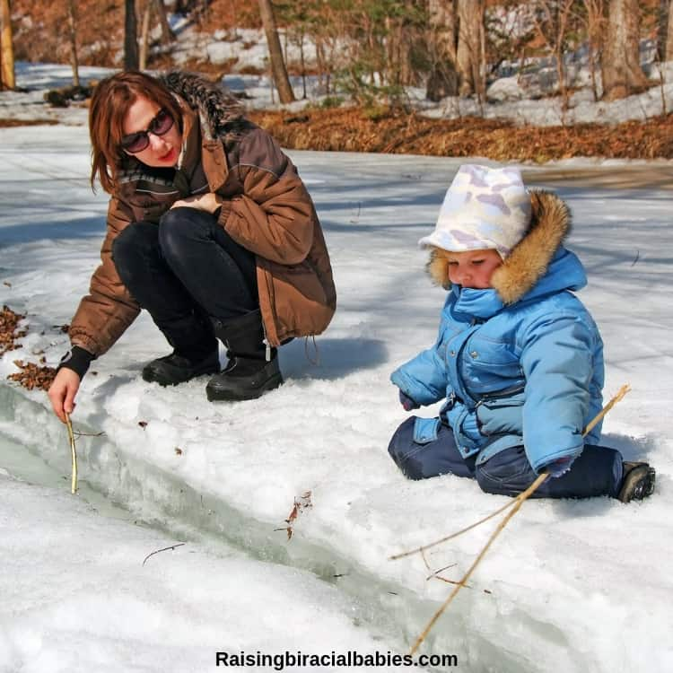 Take your son outside and explore nature as another fun mother and son date idea.