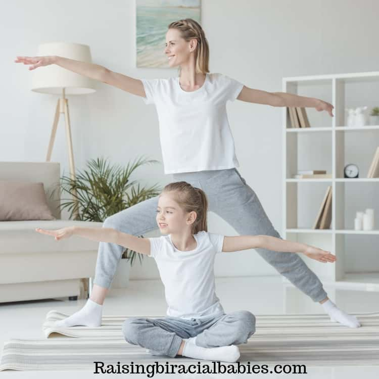 exercising together is a great mother daughter date idea