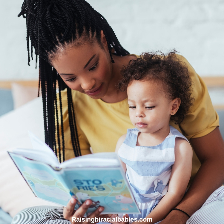 Giving the gift of books and reading them with your child is a great way to teach gratitude during the holidays.