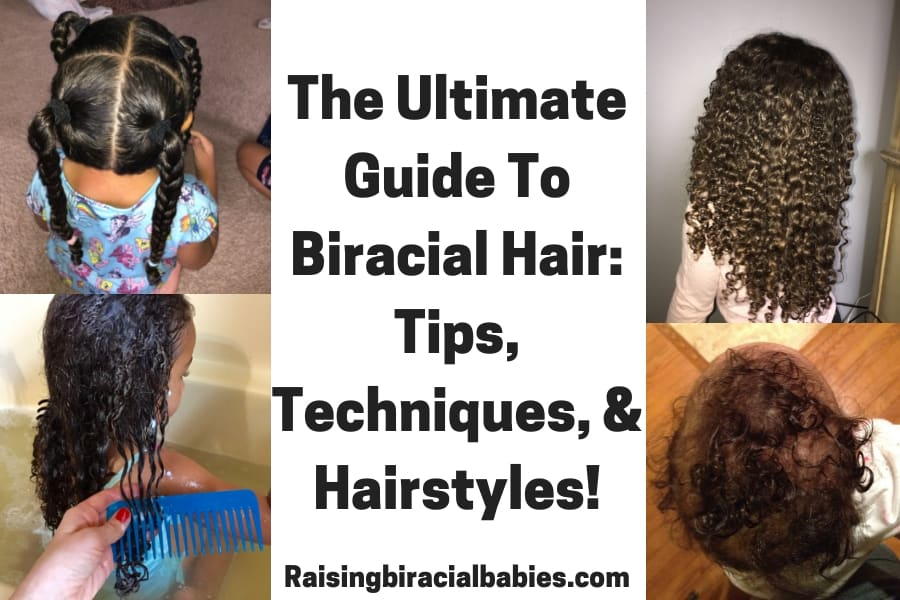 How To Care For Biracial Hair: Tips, Techniques, & Hairstyles