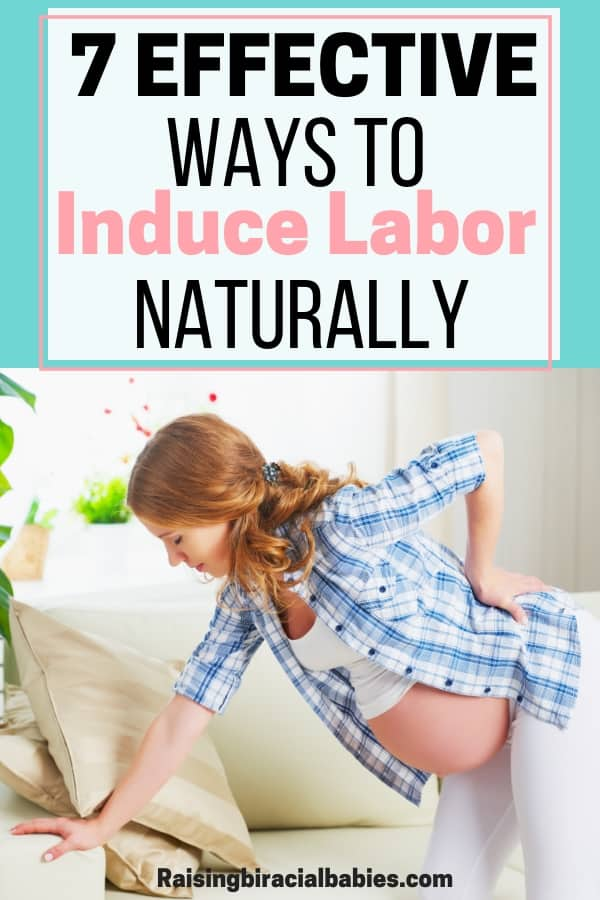 Are you trying to avoid being induced but you want to get labor started? You need to read these 7 effective ways you can induce labor naturally at home!