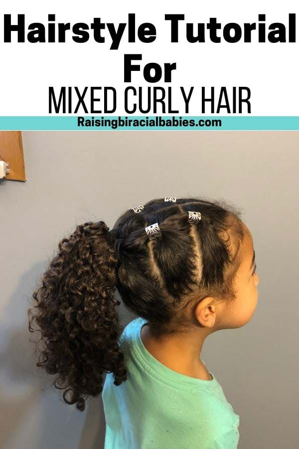 Mixed Girl Hairstyles A Cute, Easy Style For Biracial Curly