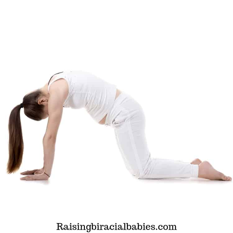 Pelvic tilts are a helpful exercise for an easy labor and delivery