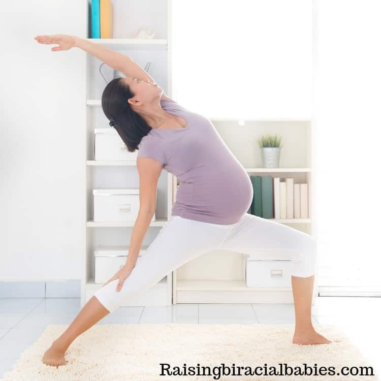 Prenatal yoga is a great exercise for an easy labor and delivery!