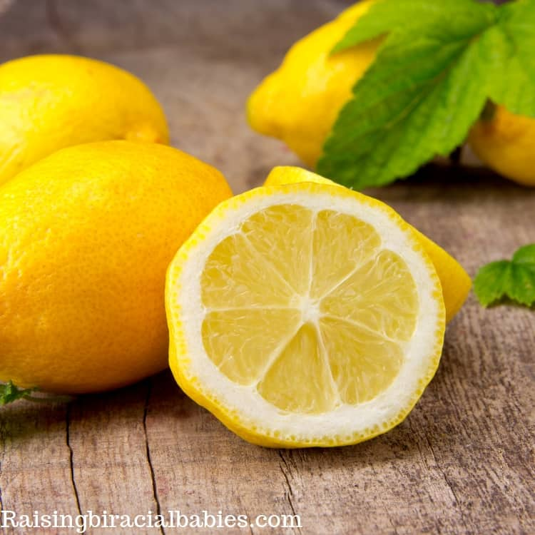 The fresh scent of lemon can help reduce morning sickness during pregnancy