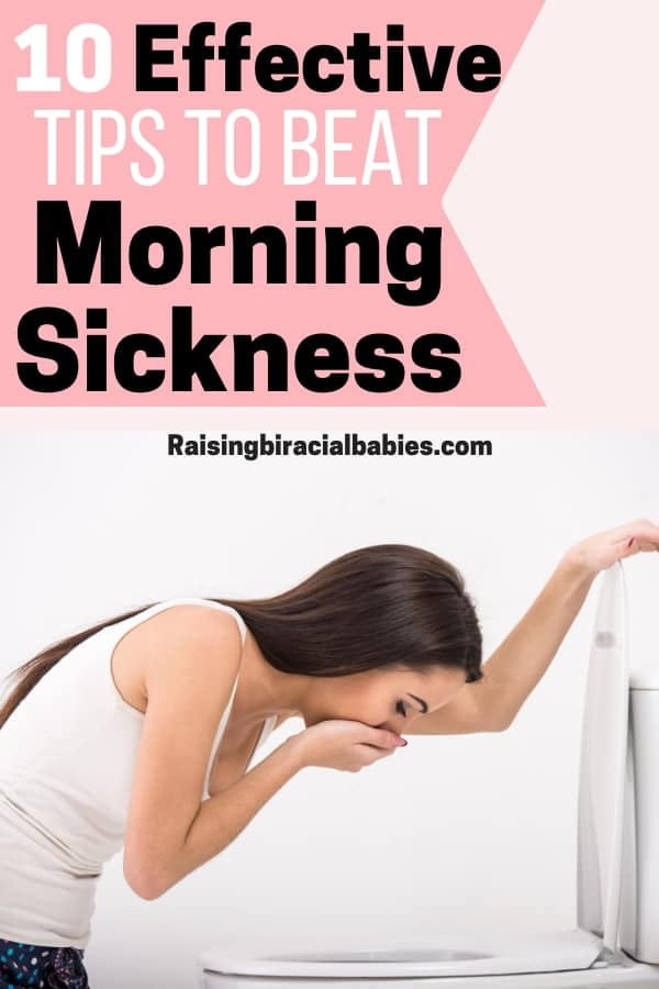 Are you tired of feeling sick during pregnancy? Learn how to beat morning sickness with these 10 tips!