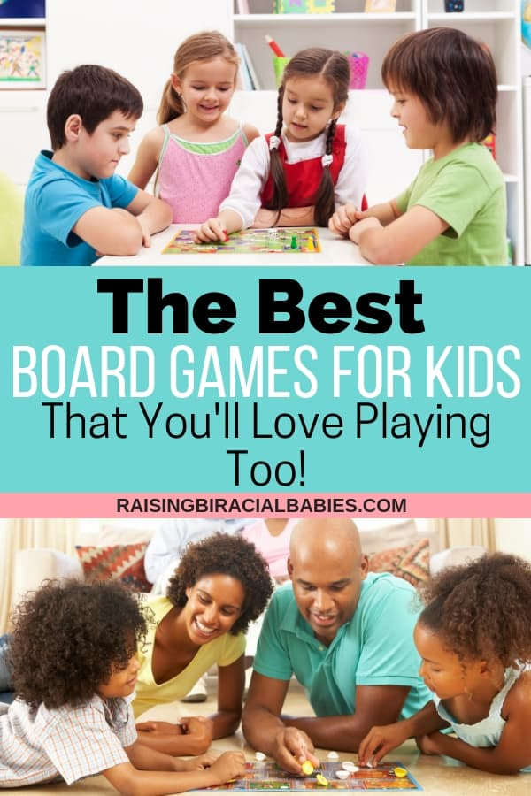 Looking for new things to do with your kids? Are you tired of playing the same games over and over? You need to check out this list of the best board games for kids! You'll actually love playing them too!