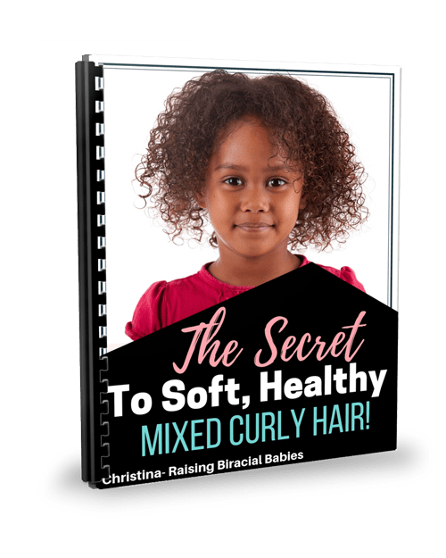 find out exactly what you need to get soft, manageable, healthy mixed hair!