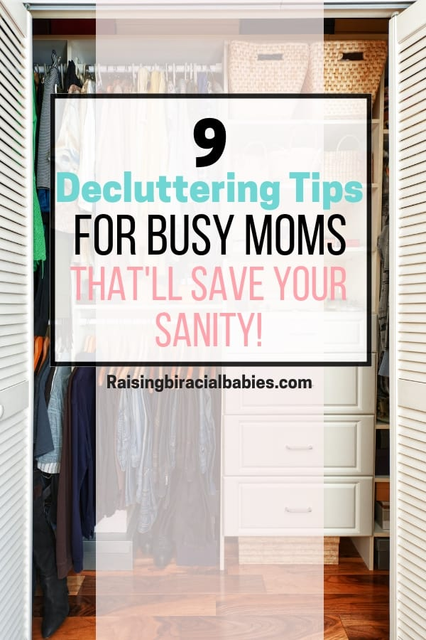 Clutter in your home can cause you and your family undue stress and unhappiness. But you can take action with these decluttering tips for busy moms and restore calm and peace in your home!