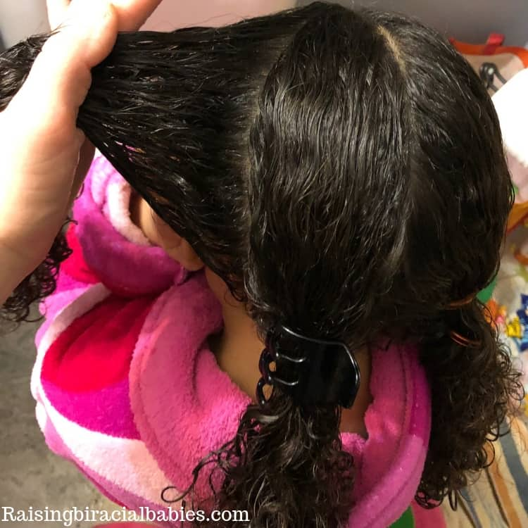 how to do a two strand twist on mixed curly hair