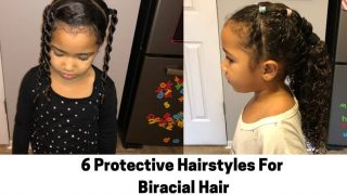 6 Protective Hairstyles For Biracial Hair