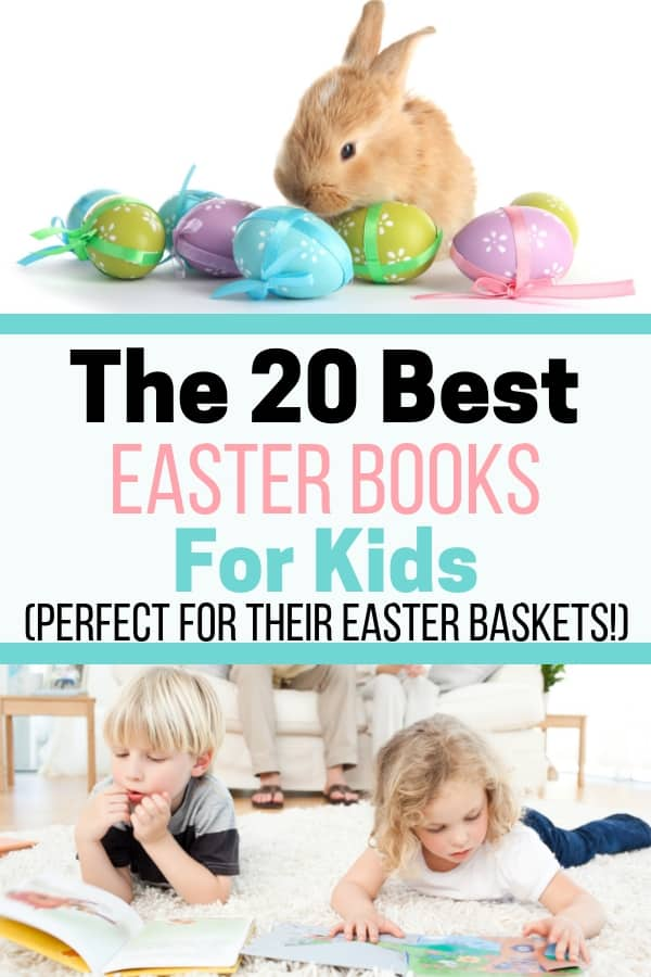 Looking for Easter basket ideas for your kids? Check out this list of the best children's Easter books. With a mix of old favorites and new trendy Easter stories, they'll have fun reading them again and again!