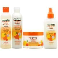"Cantu Care for Kids Shampoo + Conditioner + Leave-in Conditioner + Detangler ""Set"""