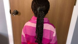Ponytail With Braids Tutorial: An Easy Hairstyle For Mixed Race Curly Hair